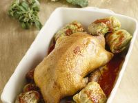Duck with Savoy Roulades recipe