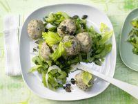 Dumplings and Vegetables