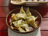 Dumplings with Cheese and Herb Filling recipe