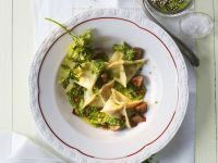 Dumplings with Pesto and Chestnuts recipe