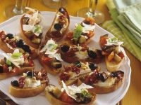 Duo of Crostini recipe