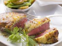 Düsseldorf-Style Mustard-Crusted Steaks recipe