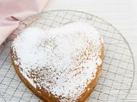 Dusted Heart Cake recipe