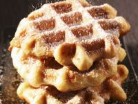 Dusted Waffles recipe