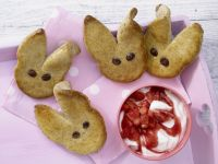 Easter Bunny Pastries recipe