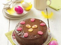 Easter Chocolate Cheesecake