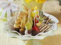 Easter Chocolate Covered Fruit recipe