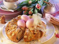 Easter Egg Pastry Ring recipe