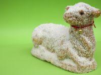 Easter Marzipan Lamb Cookies recipe