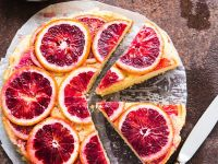 Blood Orange Sponge Cake recipe