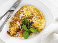 Butternut Squash Egg Crepe