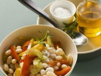 Easy Italian White Bean Salad recipe