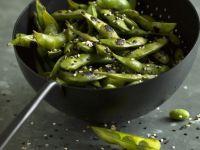 Edamame Pods with Mixed Sesame Seeds recipe