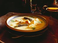 Eel and Fish with Celery Root Soup recipe