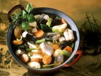 Eel Stew with Dried Fruit and Dumplings recipe