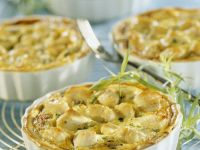 Egg and Chicken Tartlets recipe