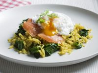 Egg and Fish Breakfast Rice recipe
