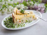 Egg and Salad Cress Tart recipe