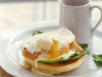 Egg and Salmon Brunch recipe