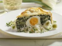 Egg and Spinach Tart recipe