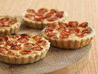 Egg and Tomato Quiches recipe
