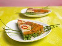 Egg and Vegetable Gelatin Tart recipe
