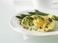 Egg and Vegetable Tart recipe