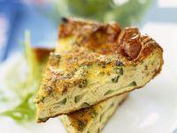 Egg and Zucchini Frittata Slice recipe