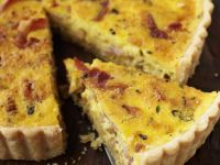 Egg, Bacon and Cheese Flan recipe