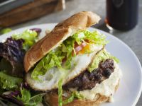 Egg Burger Bun recipe