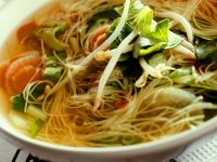 Egg Noodle Oup with Vegetables recipe