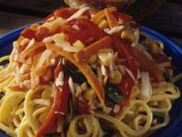 Egg Noodles with Mixed Vegetables recipe