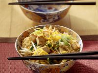 Oriental Noodle Bowl with Veggies recipe