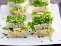 Egg Salad Sandwiches with Chives recipe