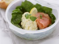 Egg Salad with Smoked Salmon recipe