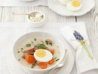 Egg Soup for Easter recipe