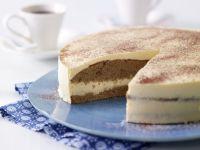 Eggnog Torte recipe