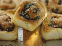 Eggplant and Herbal Rolls recipe