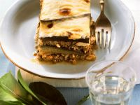 Eggplant and Meat Gratin recipe