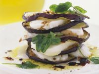Eggplant and Mozzarella Towers recipe