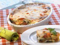 Eggplant and Tomato Gratin with Bocconcini recipe