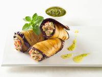 Eggplant and Tuna Salad Roll-ups recipe