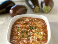 Eggplant Bake with Ground Beef recipe