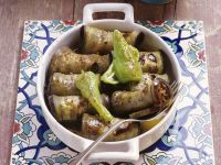 Eggplant Roulades with Ground Meat Stuffing recipe