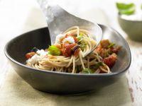 Eggplant Spaghetti recipe