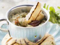 Eggplant Spread with Yogurt and Cilantro recipe