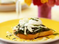 Eggs Florentine on Toast recipe