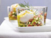 Eggs in a Glass recipe
