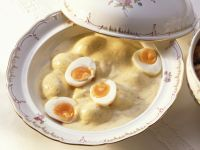 Eggs in Creamy Mustard Sauce recipe
