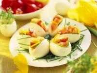 Eggs with Smoked Salmon recipe